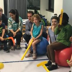 Cerebral palsy intensive therapy camp